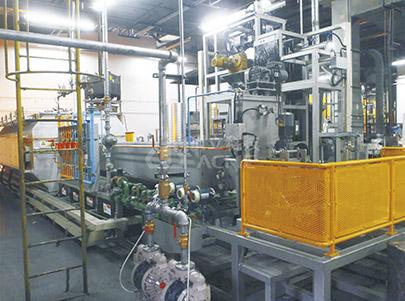 Automatikus magas hőmérsékletű zsugorító / karburáló / grafitizáló kemence